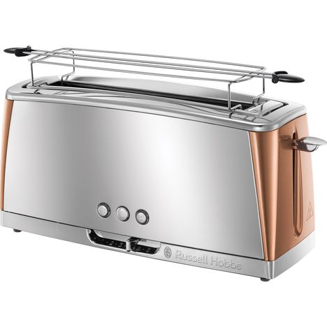 RUSSELL HOBBS Grille pain LUNA - Acier/Cuivre