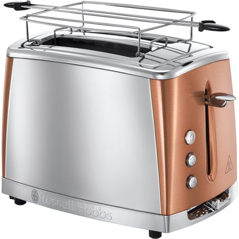 RUSSELL HOBBS Toaster LUNA 24290-56 - Cuivre/Inox