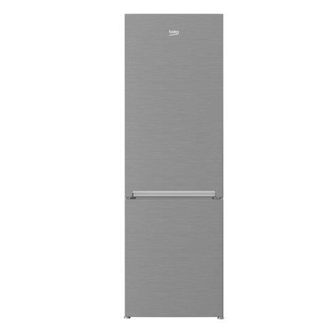 BEKO Réfrigérateur combiné RCNA400K20XP, 356 L, Froid ventilé