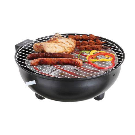 DOMOCLIP Barbecue électrique de table DOC170N - Noir