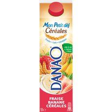 Danao fraise banane céréale 1l