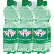 Cristaline Eau de source gazeuse bouteille 6x50cl