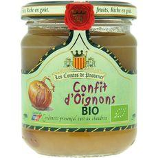 Les Comtes de Provence confit d'oignons bio 250g