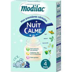 MODILAC Modilac nuit calme sans gluten en poudre 300g