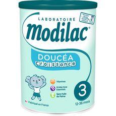 Modilac Doucéa 3 lait de croissance en poudre dès 12 mois 800g