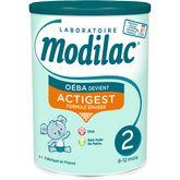 Modilac Oéba 2ème âge de 6 à 12 mois 800g