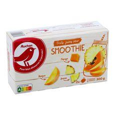 Auchan Fruits jaune pour smoothie 300g
