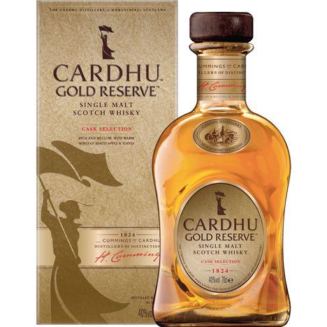 CARDHU Scotch whisky single malt ecossais Gold Reserve 40%