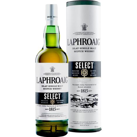 LAPHROAIG Scotch whisky single malt ecossais Islay Select 40%