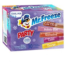 Mister Freeze classic party 30x20ml
