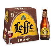 Abbaye de Leffe bière brune 6,5° -6x25cl