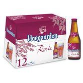 Hoegaarden bière rosée 3° -12x25cl