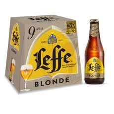 Abbaye De Leffe bière blonde 6,6° -9x25cl