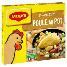 MAGGI Bouillon de poule au pot fabriqué en France 15 tablettes 150g