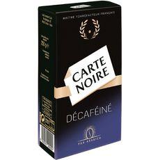 CARTE NOIRE Café moulu décaréinié pur arabica 250g