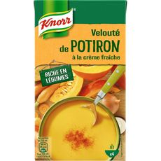 Knorr soupe liquide velouté potiron crème fraîche 1l