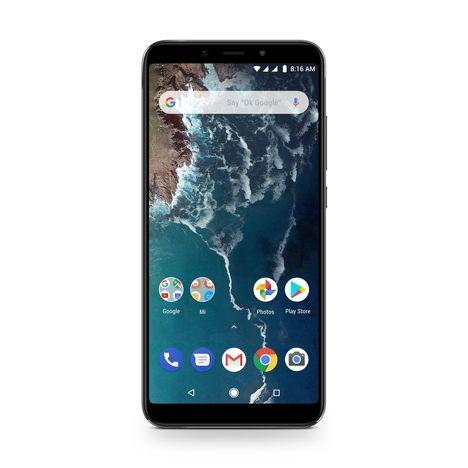 XIAOMI Smartphone Mi A2 - 64 Go - Ecran 5.99 pouces - Noir -  Double SIM - 4G
