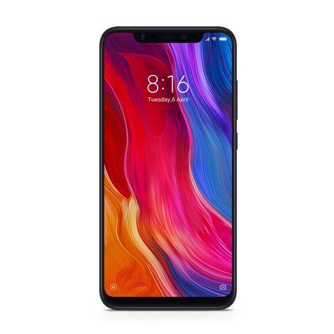 XIAOMI Smartphone - MI8 - 128 Go - 6.21 pouces - Noir - Double SIM - 4G
