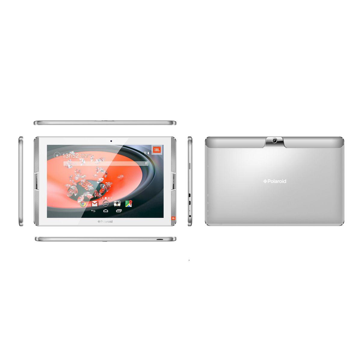 POLAROID Tablette tactile ATOMIC 400 10.1 pouces 4G Argent 32 Go