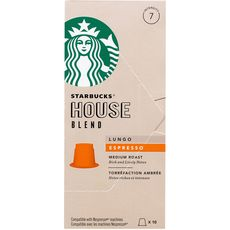 Starbucks house blend lungo nespresso capsule x10 -55g