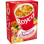 Royco minute soup bouillon à la chinoise 3x20cl