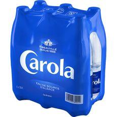 Carola bleue eau minérale plate 6x50cl