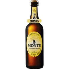 3 Monts bière blonde 8,5° bouteille 75cl