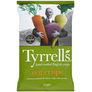 Tyrell's chips aux légumes 150g