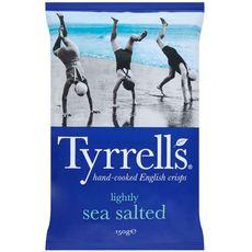 Tyrrell's TYRRELL'S Tyrrell's Chips finement salées au sel de mer 150g