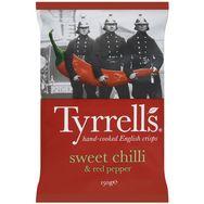 Tyrrell's chips piment doux 150g
