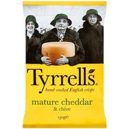 Tyrrell's chips cheddar 150g