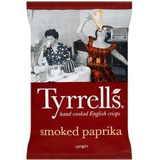 Tyrrell's chips paprika 150g