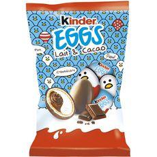 KINDER Eggs petits oeufs lait et cacao 12 oeufs 120g