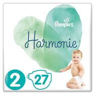 Pampers pure harmonie couche x27 taille 2