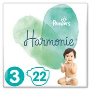 Pampers Harmonie couches taille 4 (6-10kg) x22