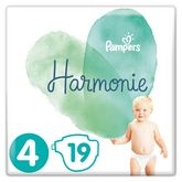 Pampers pure harmonie couche x19 taille 4
