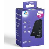 LOGICOM Pack Prépayé avec Mobile Logicom L248 Noir & Carte Sim