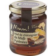 Mmm! miel de châtaignier de la région Midi-Pyrénées 250g