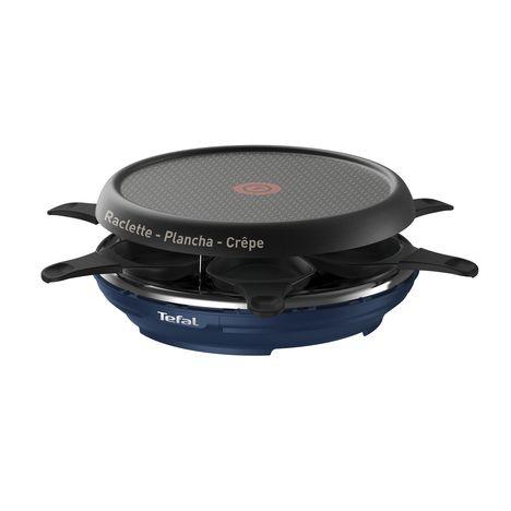 TEFAL Raclette Colormania RE12A412, Bleu, 6 Personnes