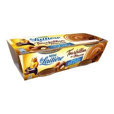 LA LAITIERE La Laitière tourbillon de mousse chocolat au lait 2x90g