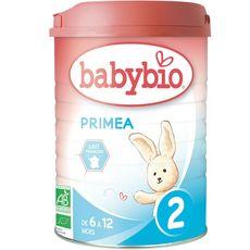 BABYBIO Primea lait 2ème âge en poudre bio dès 6 mois 900g