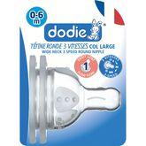 Dodie tétine initiation+ 3 vitesses débit 1 x2