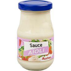 AUCHAN Sauce aïoli 245g