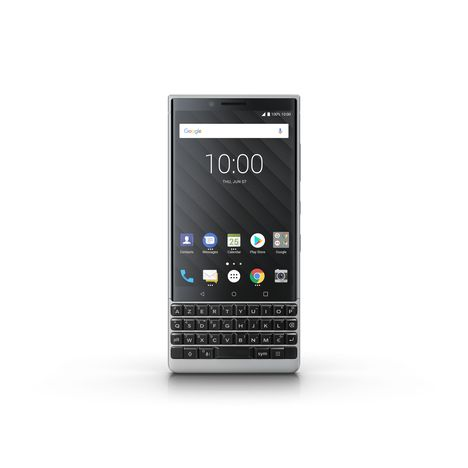 BLACKBERRY Smartphone - Key 2 - 64 Go - Ecran 4.5 pouces - Gris - 4G