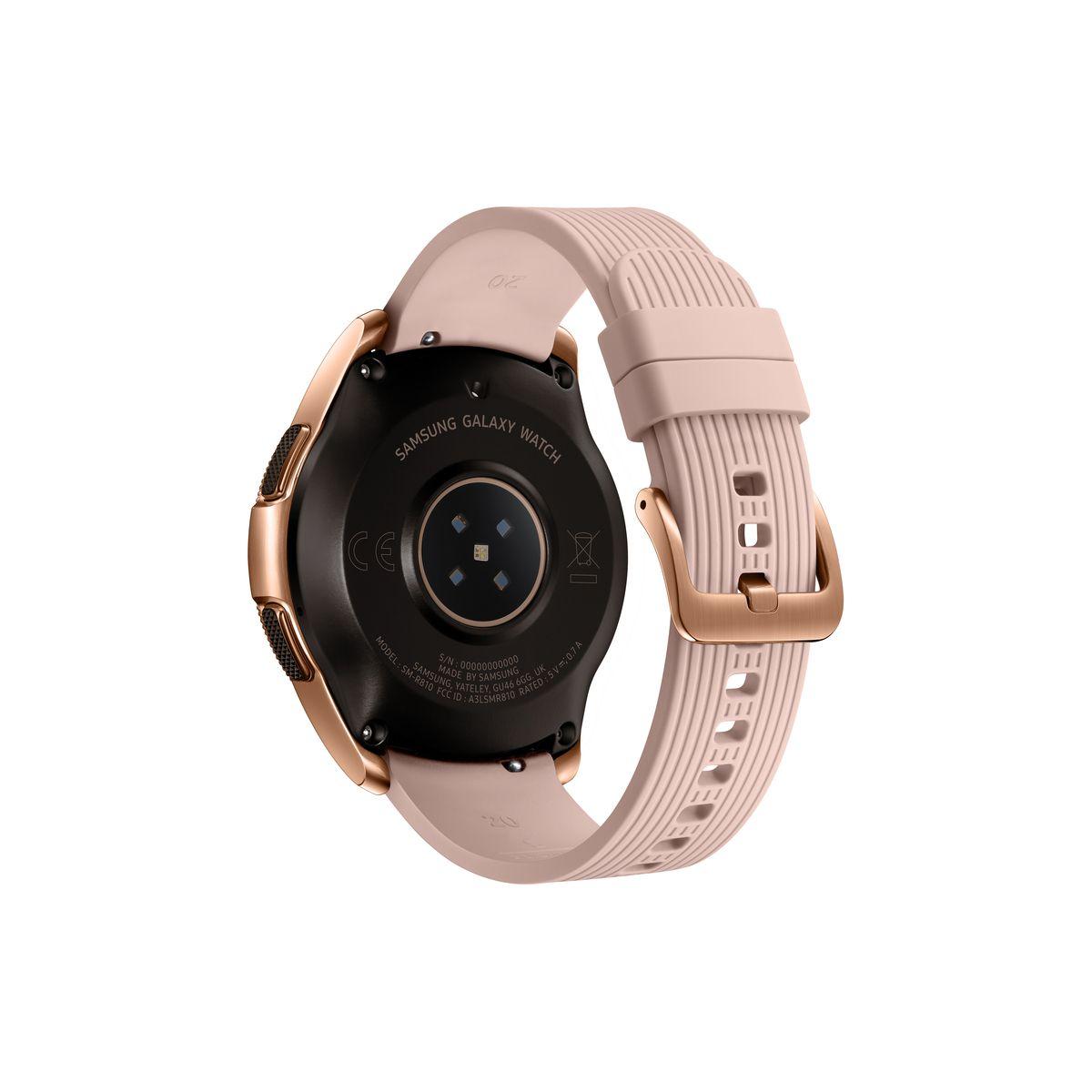 SAMSUNG Montre connectée - Galaxy watch - Or impérial - cadran 42 mm