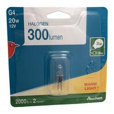 Auchan halogène G4 capsule 20W