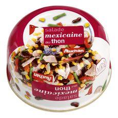 AUCHAN Salade mexicaine au thon 250g