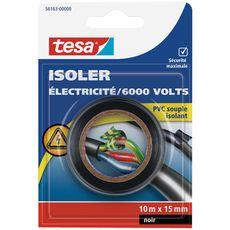 TESA Tesa Ruban d'isolation électrique noir 6000v 10x15mm x1 1 pièce