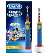 ORAL B Brosse à dents électrique Kids Stages Power, Mickey