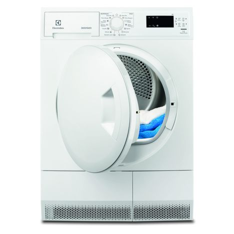 ELECTROLUX Sèche-linge Porte pleine EDH3674PDE, 7 Kg, Condensation, Pompe à chaleur